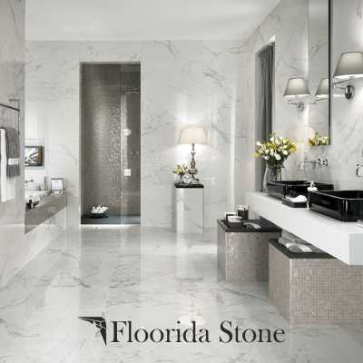 Ice White Marble Tile